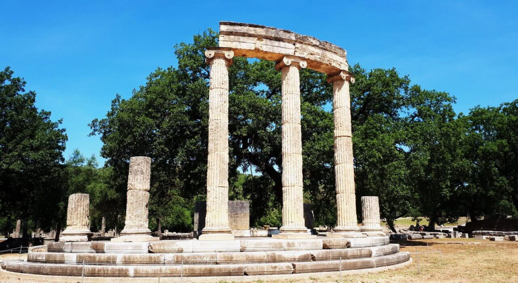 Ancient Olympia, The Philippeion temple