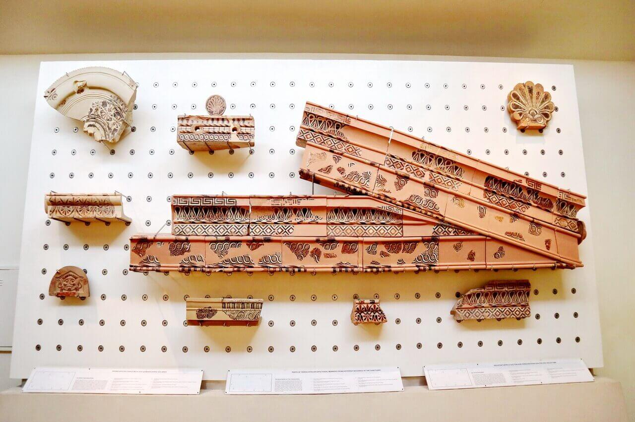 Olympia Museum, terraccota from buidlings