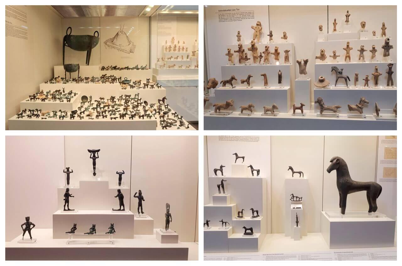 Bronze figurines, Olympia Archeological Museum