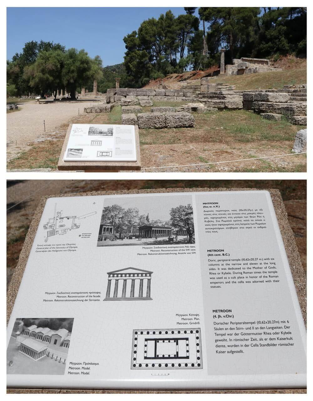 Metron, ancient Olympia