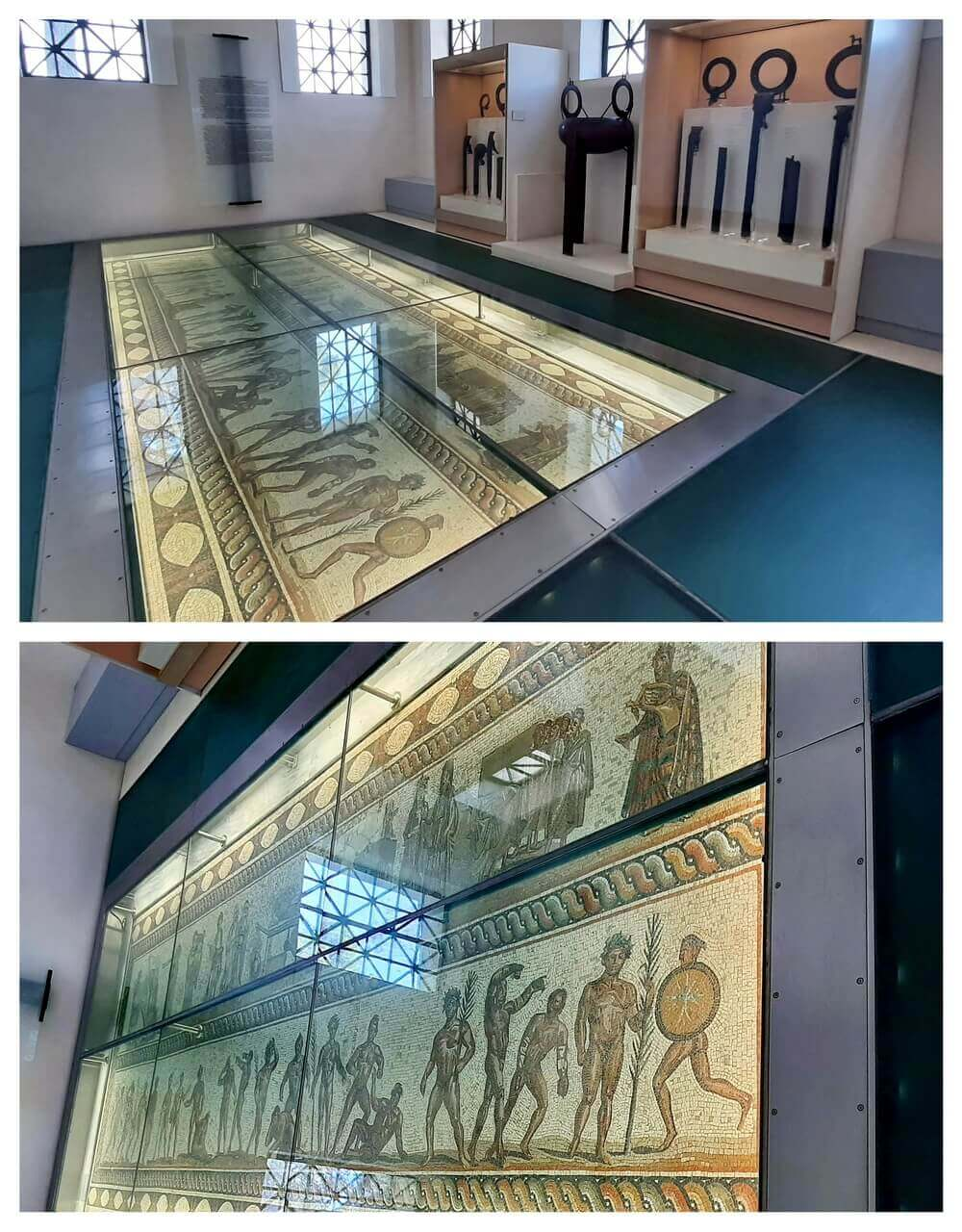Mosaic, Museum of the history of the Olympic Game