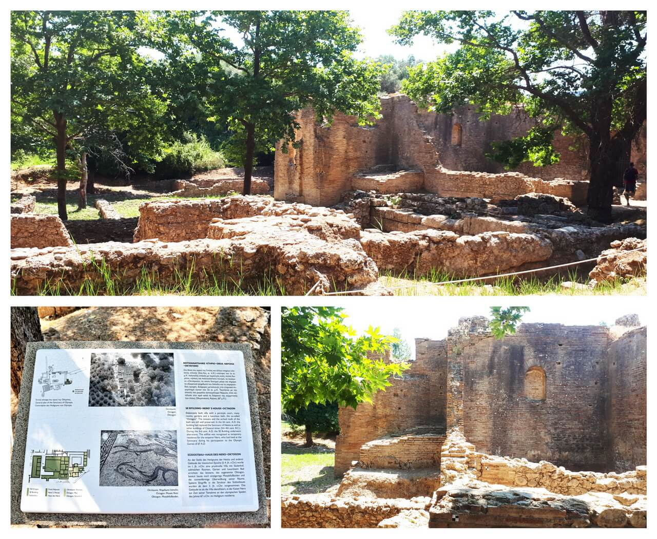 Nero's House in ancient Olympia