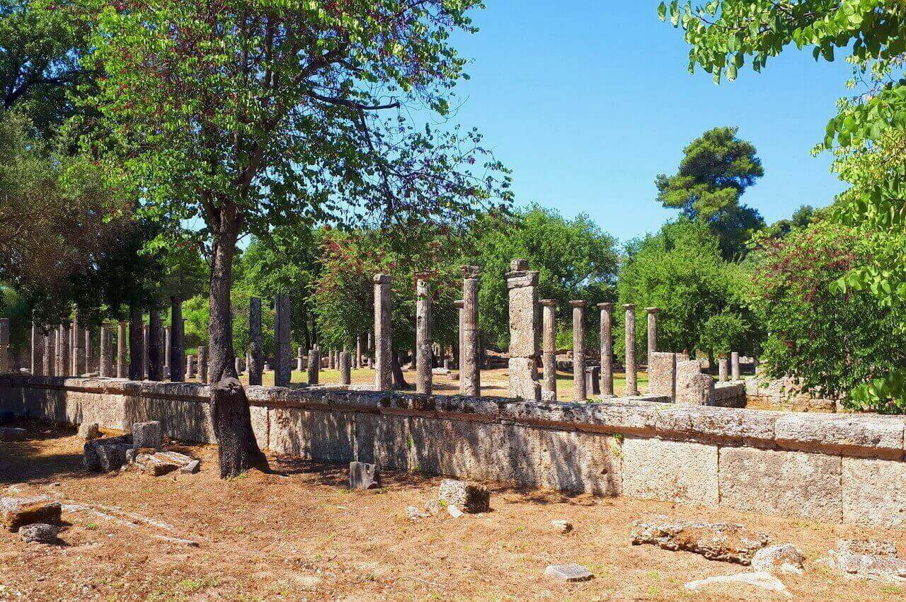 Palestra, ancient Olympia