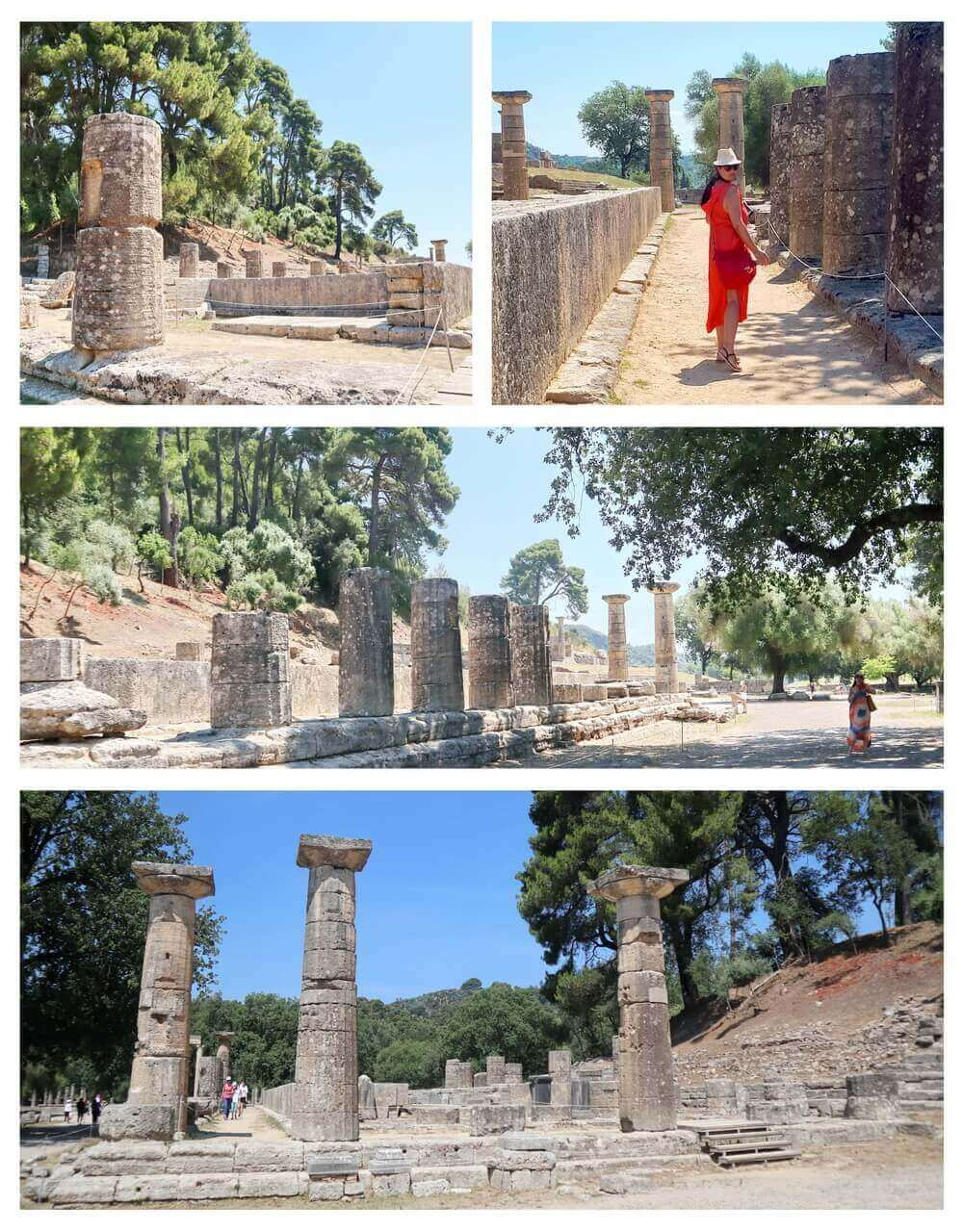 The Temple of Hera, ancient Olympia