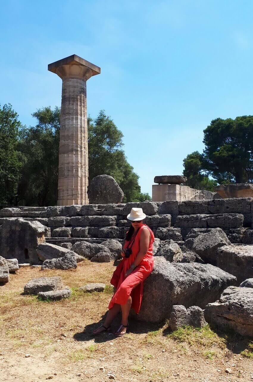 The Temple of Zeus, Olympia