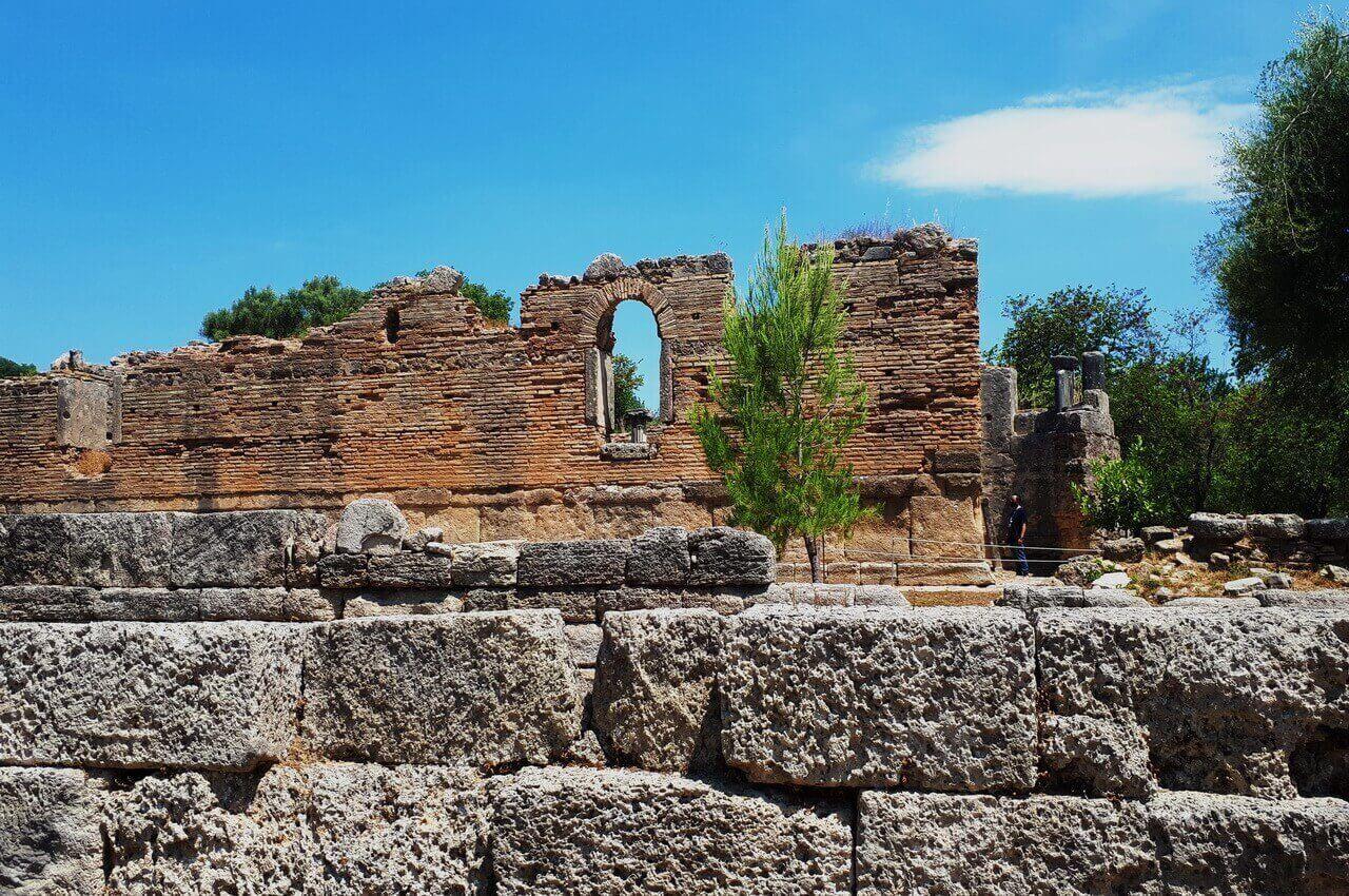 Olympia, The workshop of Pheidias