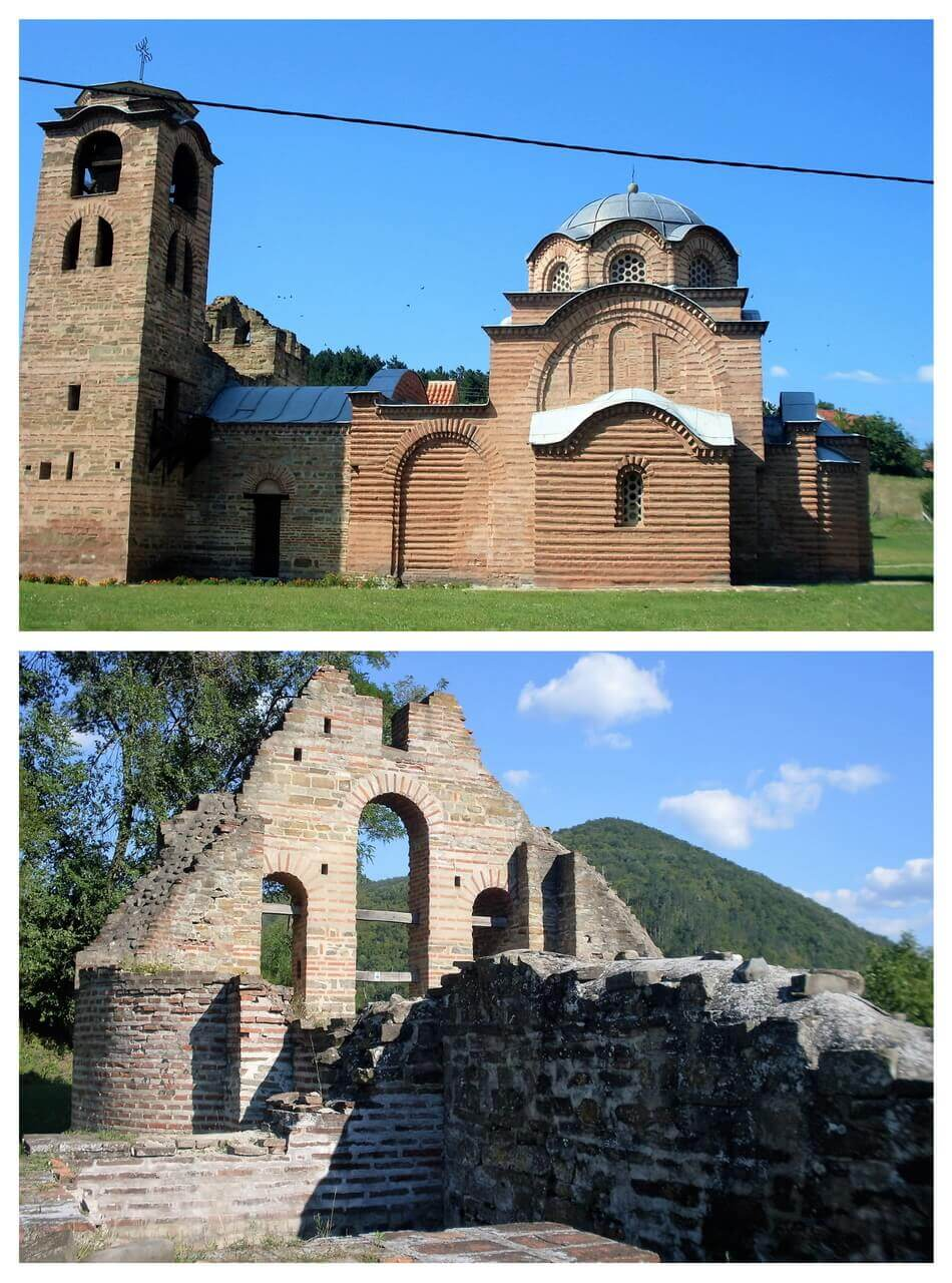 The Monastery of St Nicholas and the ruins of the monastery of the Holy Mother of Christ, Kuršumlija