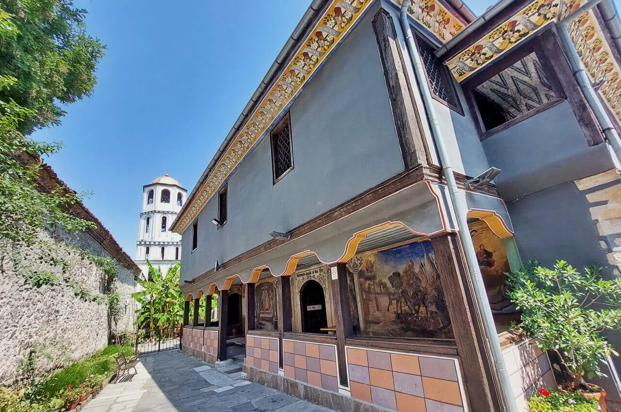 The church St. Konstantin and Elena