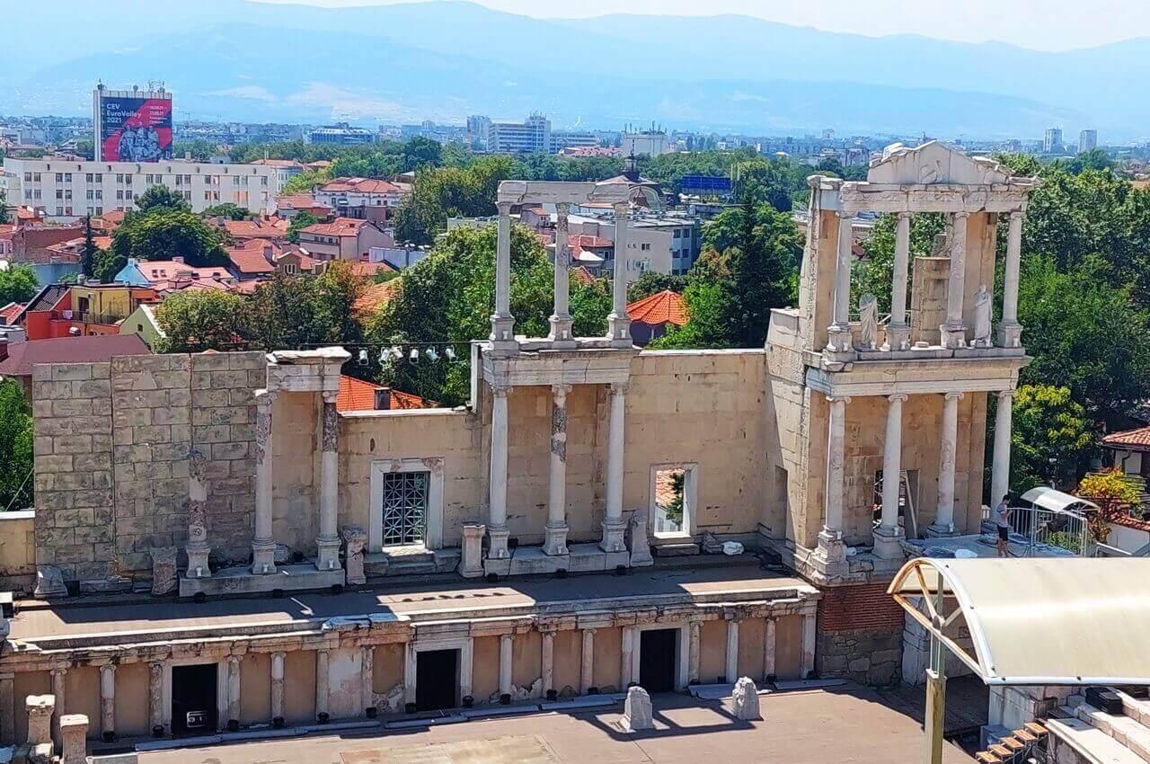 Ancient theatre of Philipoppol