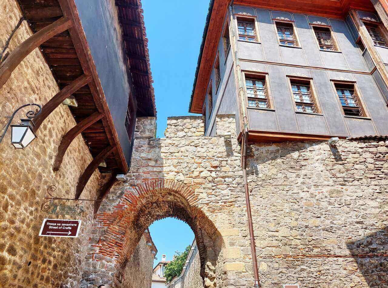 Hisar Kapiya, Old town Plovdiv