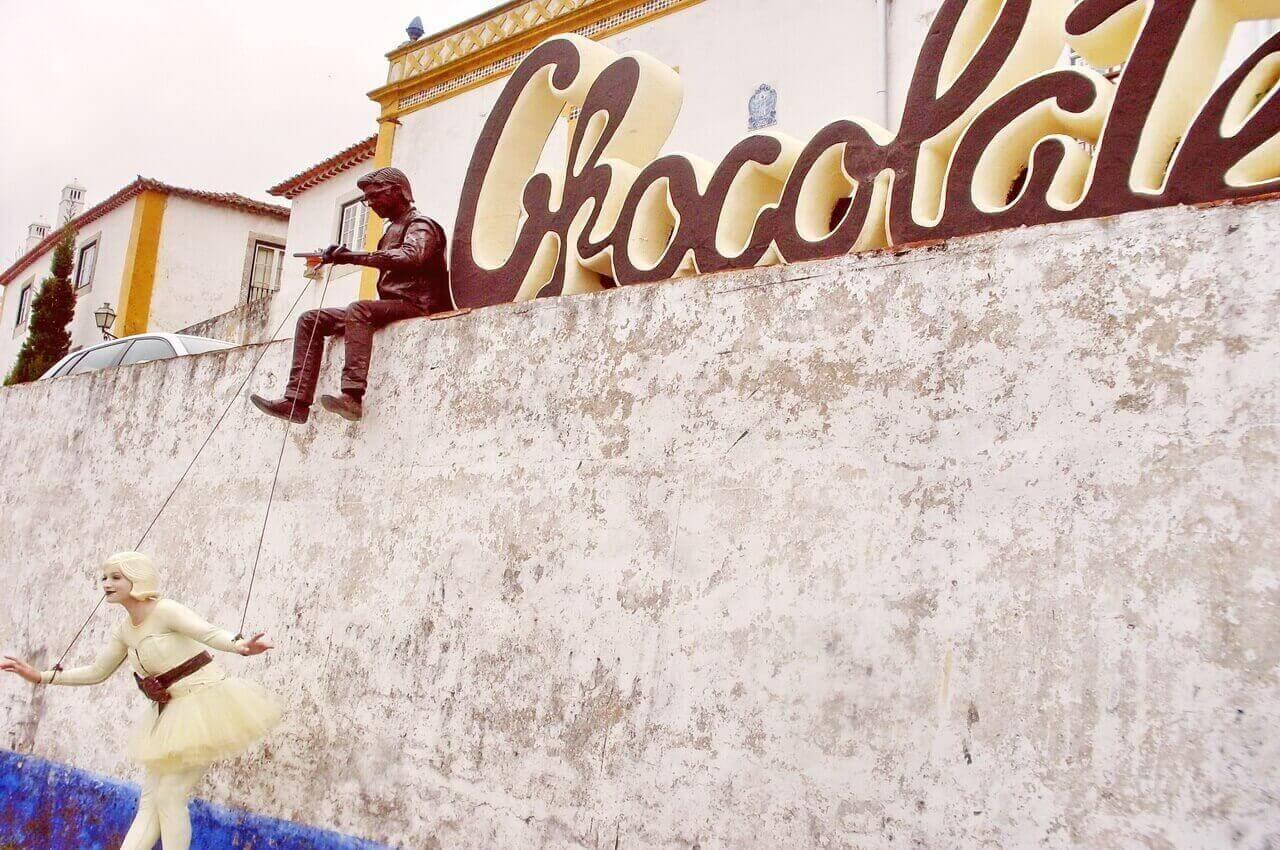 Obidos, Chocolate festival 2015.