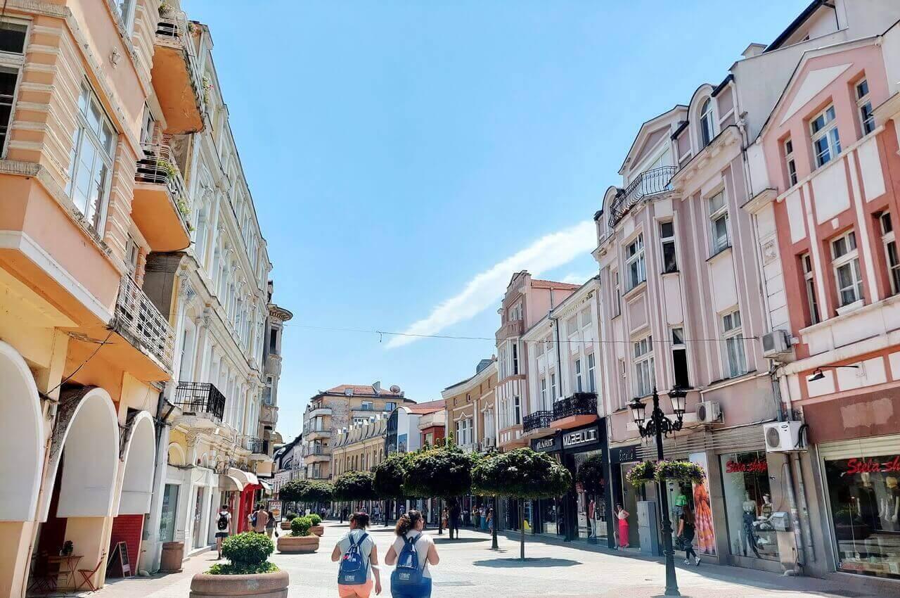 Pedestrian steet, Plovdiv