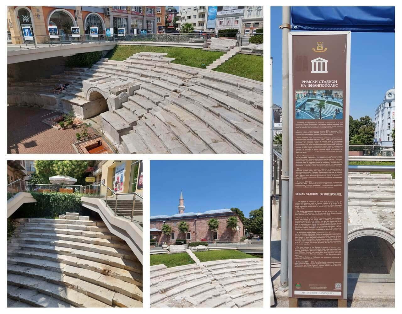 Plovdiv, Ancient stadium