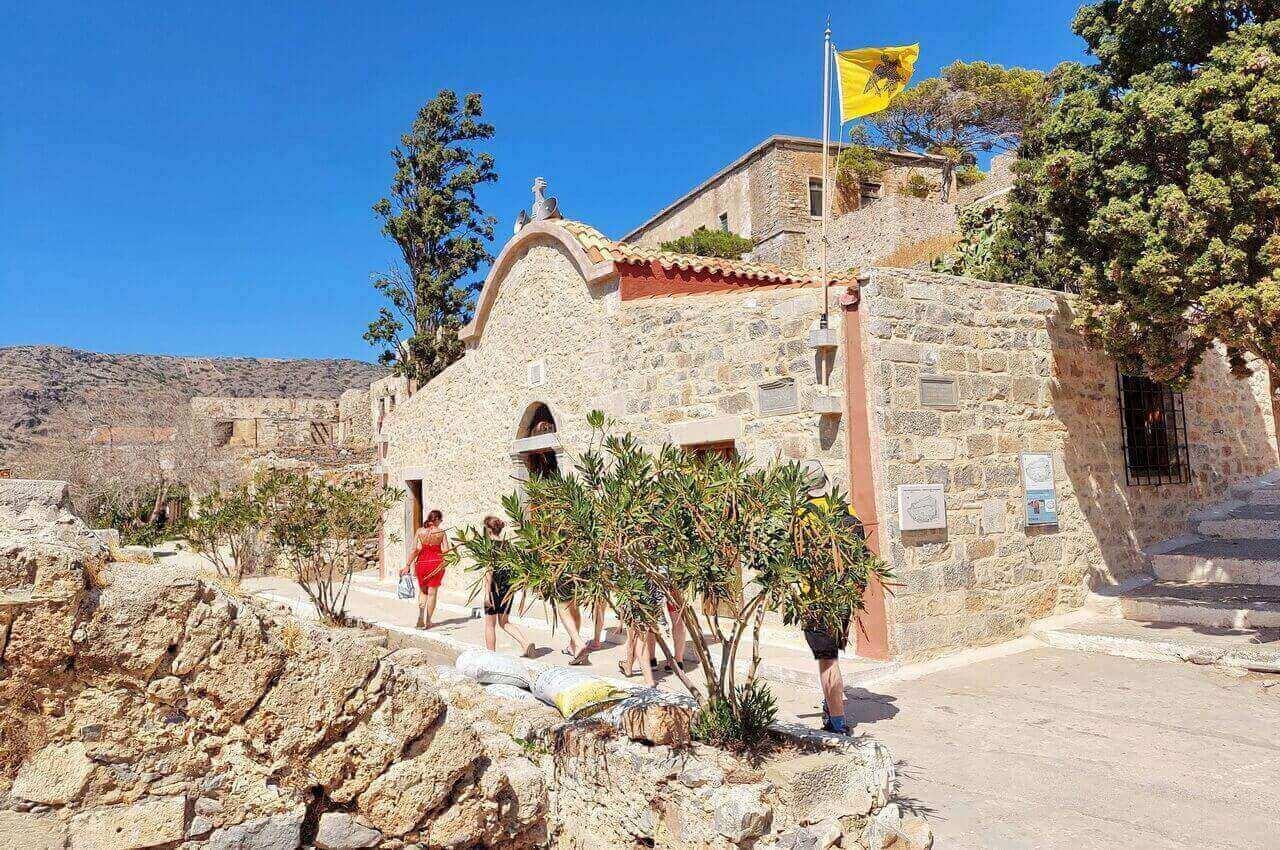 Spinalonga, The Church of Panteleimon