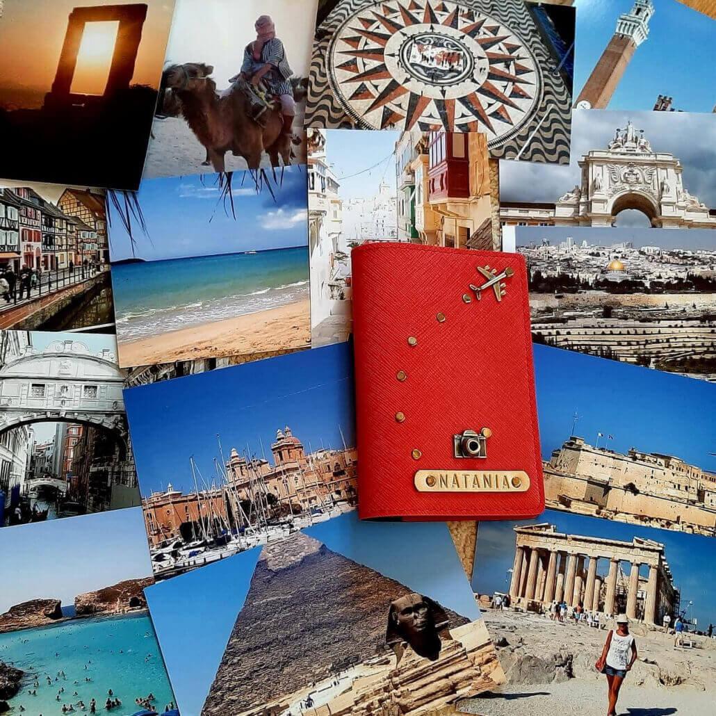 Natania Travel passport, Home, Naslovna