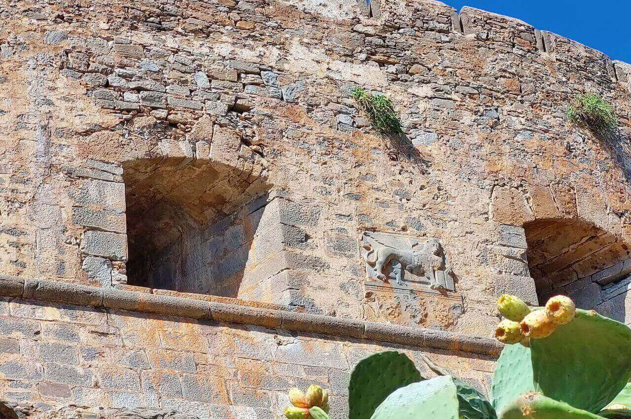 Venetian fortress and lion on the wall